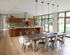 Country Crib contemporary-dining-room