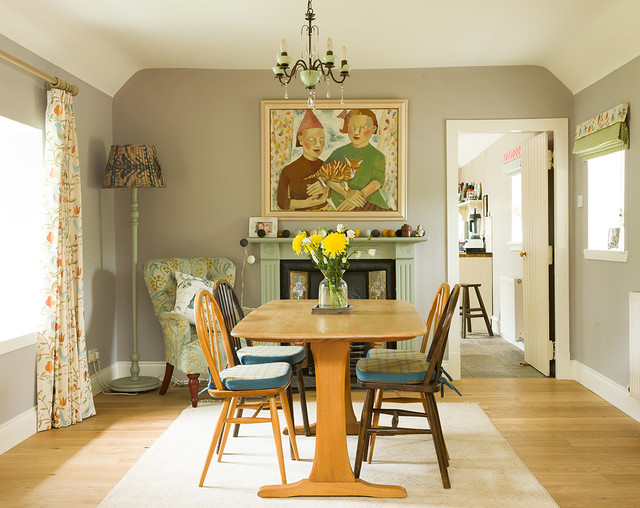 Country croft traditional dining room other by for Dining room design questions