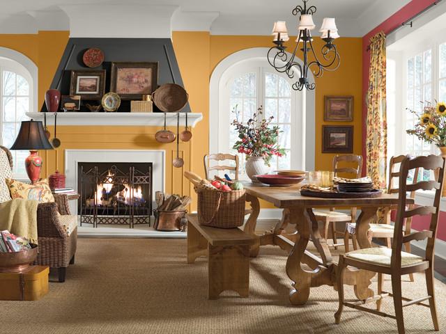 Behr® rustic-dining-room