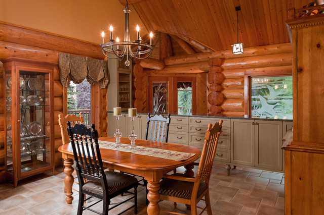country dining room rustic dining room portland by fraley and