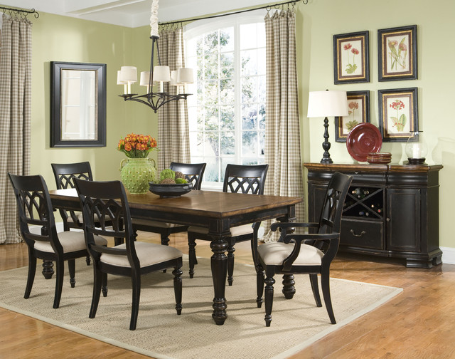 Country dining room traditional dining room charlotte - Country dining room pictures ...