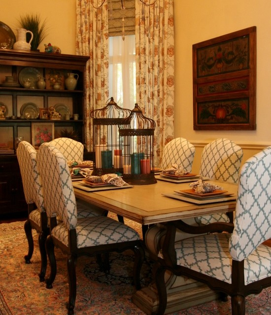 country elegance rustic dining room other by