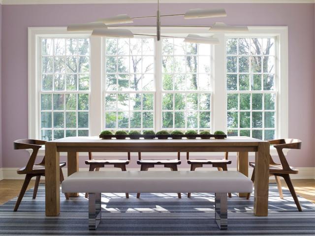 Washington, CT, Home contemporary-dining-room