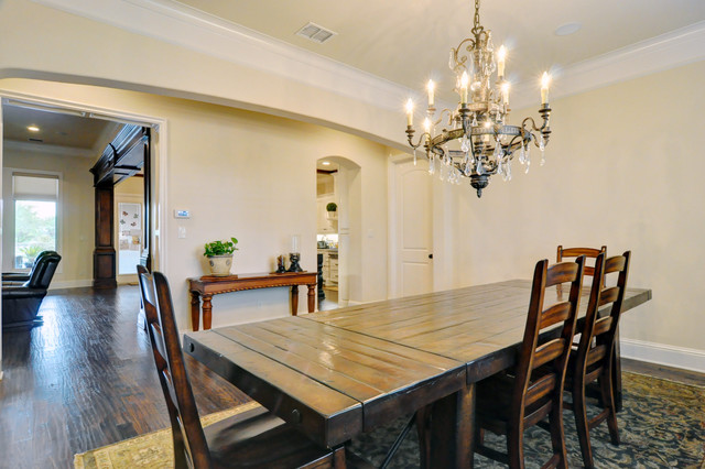 Country French Traditional Dining Room Dallas By