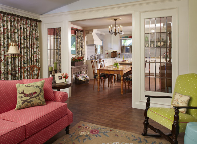 Country French Cottage - Living Room 3 - Traditional ...