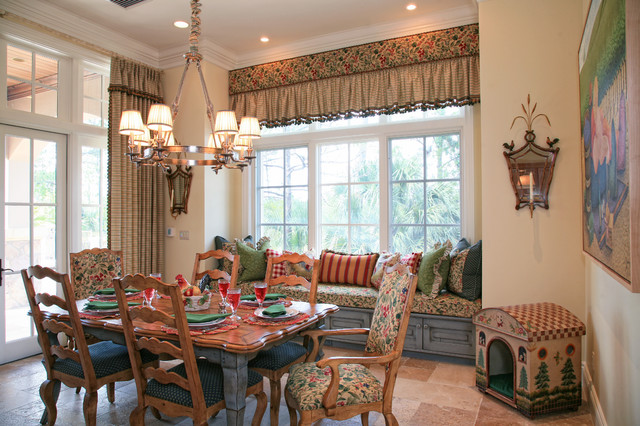 Country French Estate - Rustic - Dining Room - Miami - by JMA ...