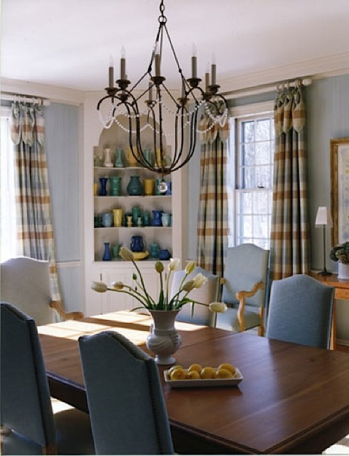Country House Diningroom eclectic-dining-room