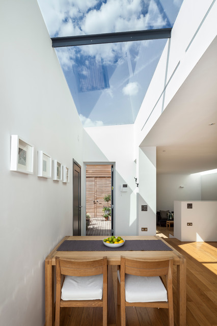 Courtyard House East Dulwich Contemporary Dining Room