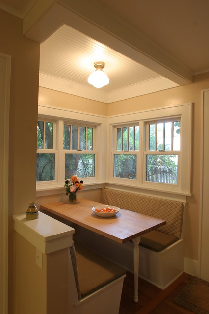 Craftsman Breakfast Nook Craftsman Dining Room By