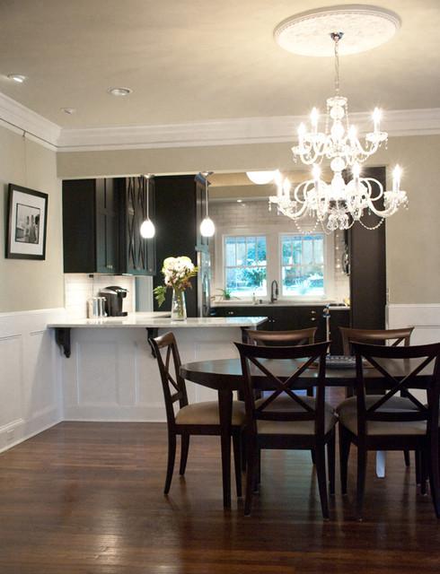 Craftsman Bungalow Renovation Dining Room