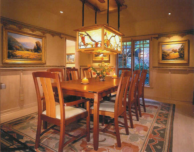 craftsman bungalow craftsman dining room los angeles by