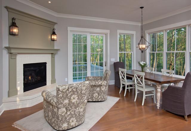 Craftsman Farmhouse craftsman-dining-room