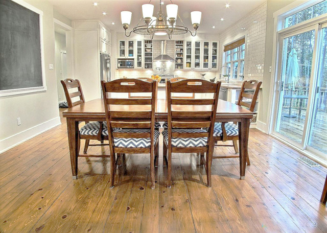 Craftsman House Interior Traditional Dining Room