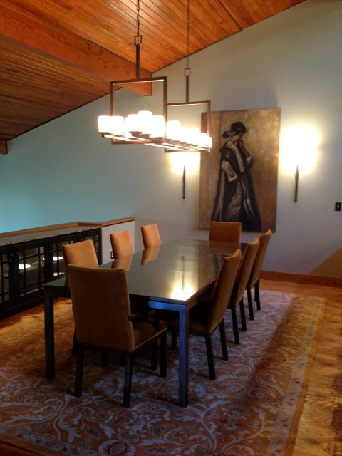 Craftsman Style Dining Room Contemporary Dining Room