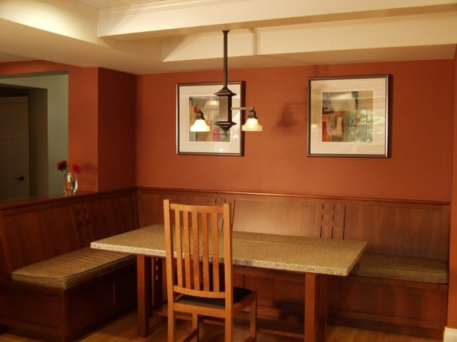 craftsman style home craftsman dining room san francisco by