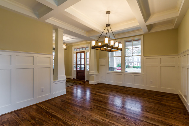 Craftsman Style Home Interiors Craftsman Dining Room Richmond By Bradford Custom Home
