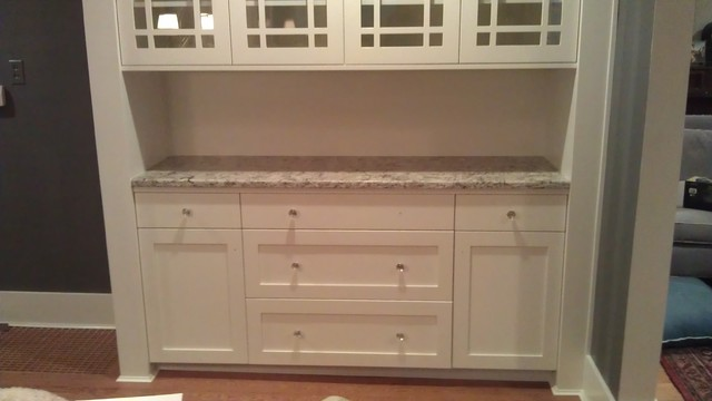 Craftsman Style Hutch - Traditional - Dining Room - seattle - by Tony's Custom Cabinets