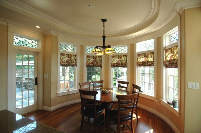 Craftsman Style in Burlingame-Dining Area traditional dining room