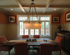 Craftsman Style in Burlingame Dining Room traditional dining room