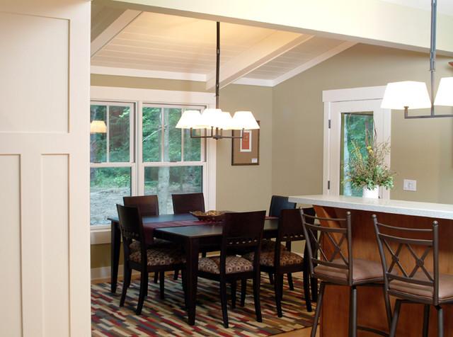 craftsman style craftsman dining room