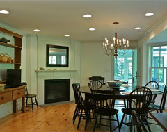 Cranberry Lane rustic-dining-room