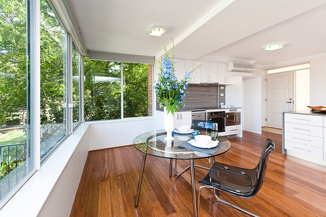 Crawely Renovation contemporary-dining-room