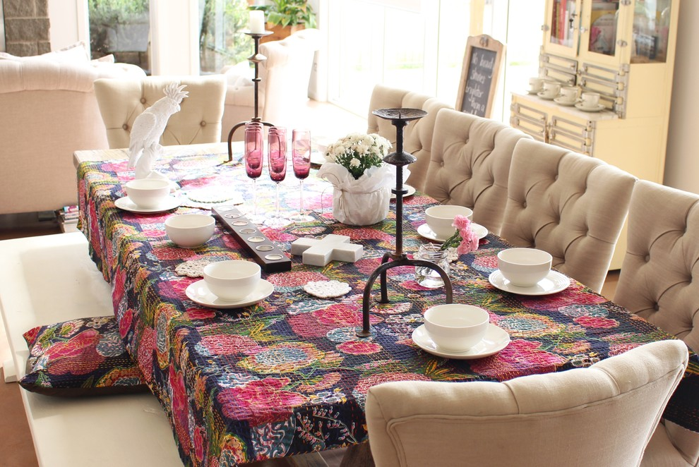 Inspiration for a dining room remodel in Sydney