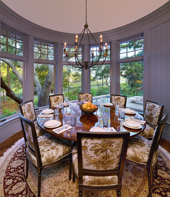 Creekside Cottage-Kiawah Island traditional-dining-room