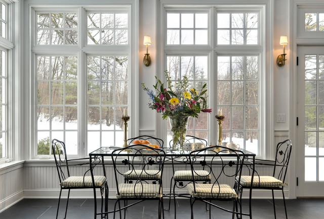 Crisp Architects traditional-dining-room