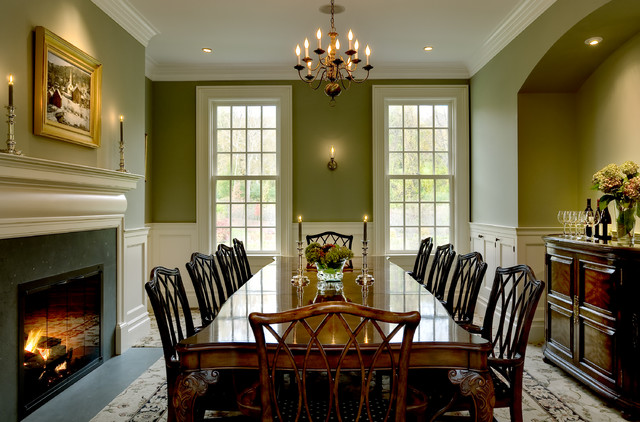 Crisp Architects Traditional Dining Room New York by Crisp