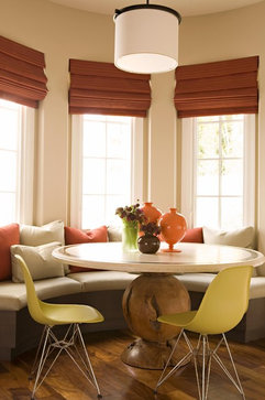 Crystal cove contemporary dining room