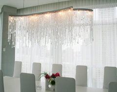 Crystals Penthouse contemporary dining room