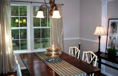 Ct condo staging traditional furnishings get updated for Update traditional dining room