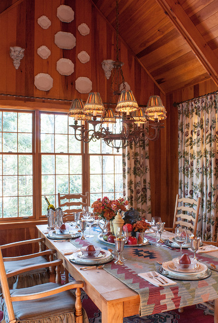 nc rustic dining room charlotte by lucas patton design