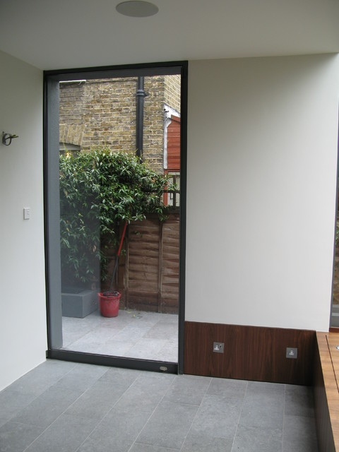 forget classic sliding doors, these exterior pocket doors are awesome!