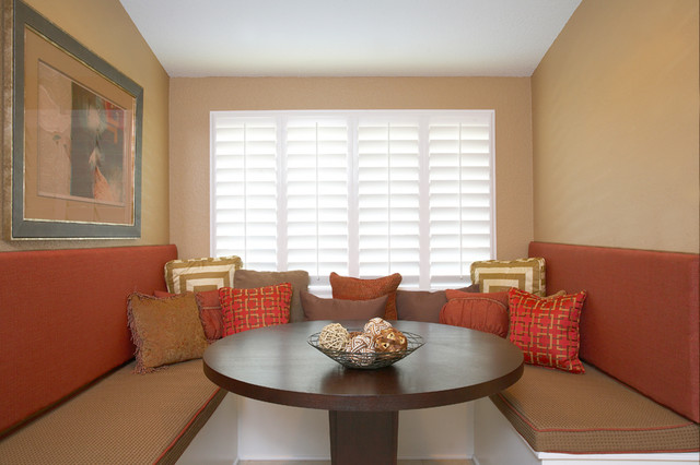 contemporary dining room by Kerrie L. Kelly