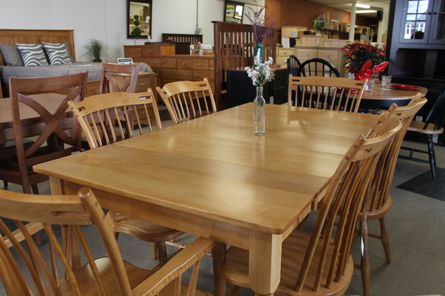 Custom Amish Dining Sets Country