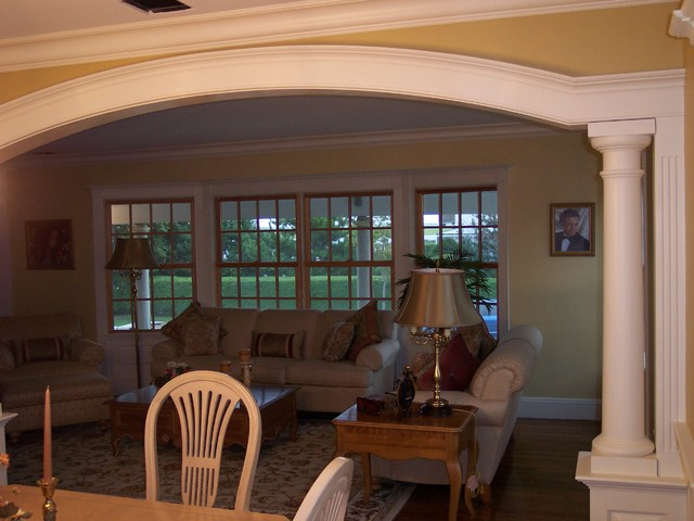 Custom Arches and Trim dining-room