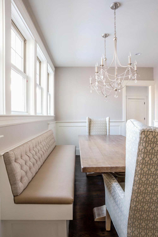 Custom  Bench Seating Dining Room