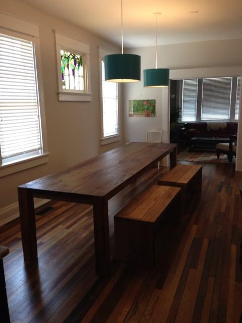 custom built dining tables contemporary dining room richmond