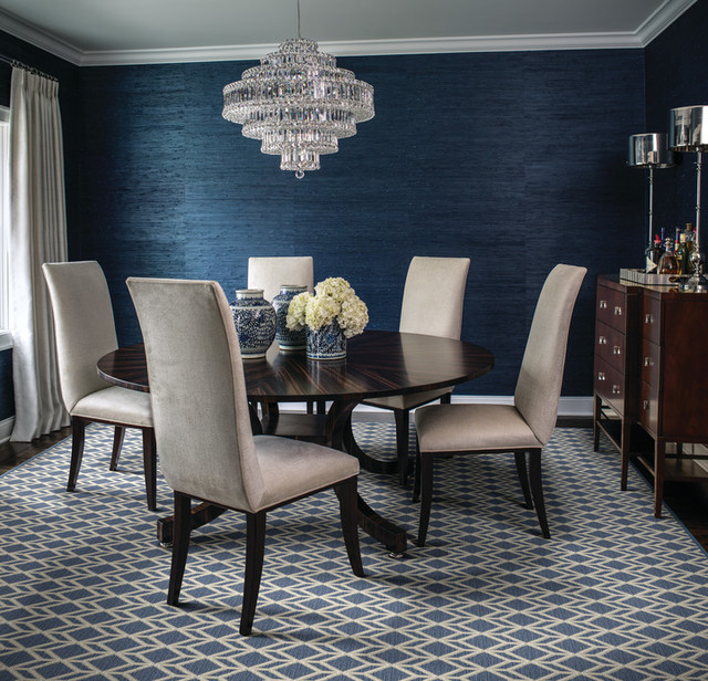 Modern Dining Room Rugs: Custom Carpet & Rugs
