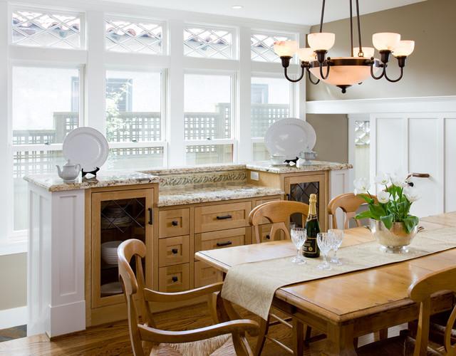 Custom Craftsman traditional-dining-room