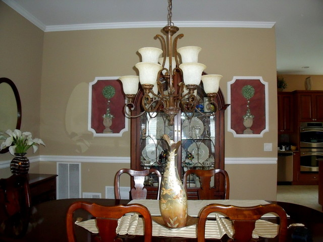 Custom Decorative Moldings traditional dining room