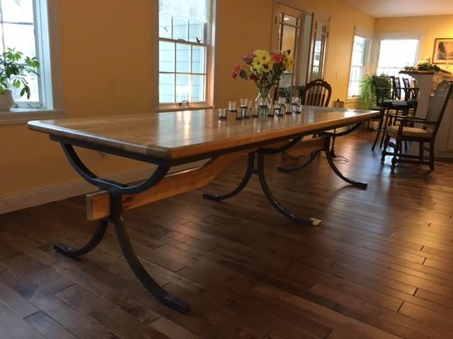 custom dining room table traditional dining room