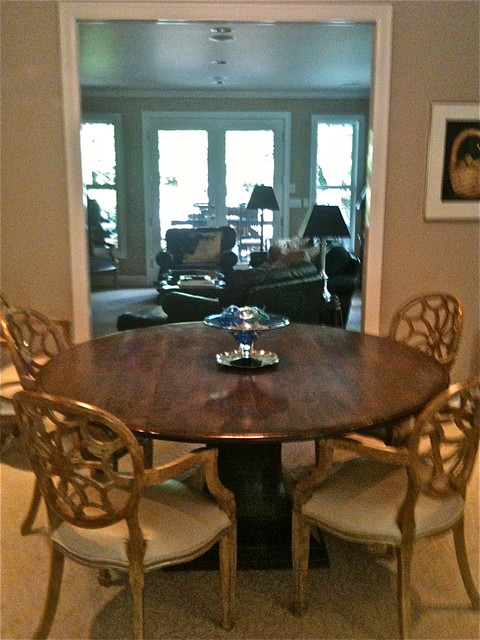 CUSTOM DINING TABLE AND CHAIRS MADE IN PORTLAND