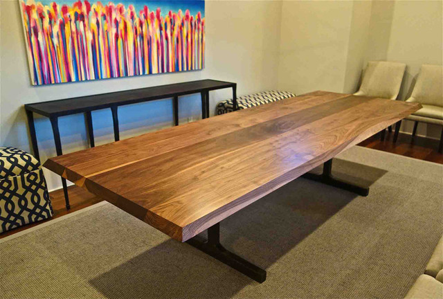 Custom Dining Tables Contemporary Dining Room