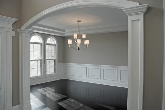 Custom Floor Plan APS Dining Room traditional-dining-room