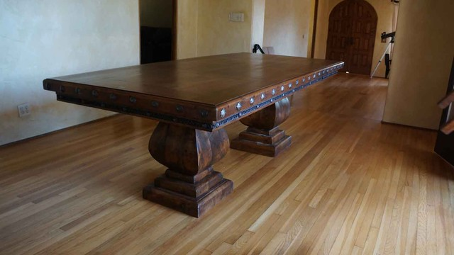 Custom furniture eclectic dining room los angeles for Dining room tables los angeles