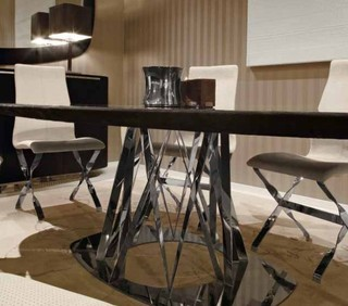 Custom furniture contemporary dining room los for Dining room tables los angeles