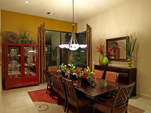 Custom Home #1 transitional-dining-room